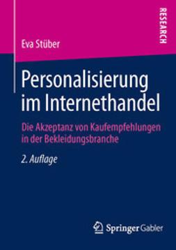 Stüber, Eva - Personalisierung im Internethandel, e-bok
