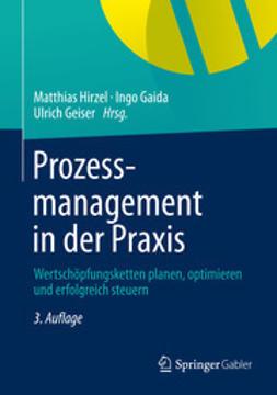 Hirzel, Matthias - Prozessmanagement in der Praxis, ebook