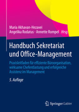 Akhavan-Hezavei, Maria - Handbuch Sekretariat und Office-Management, ebook