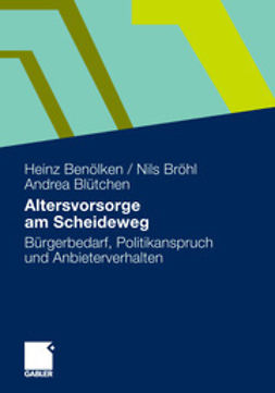 Benölken, Heinz - Altersvorsorge am Scheideweg, ebook