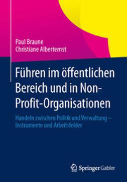 Braune, Paul - Führen im öffentlichen Bereich und in Non-Profit-Organisationen, ebook