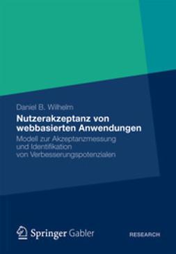 Wilhelm, Daniel B. - Nutzerakzeptanz von webbasierten Anwendungen, ebook