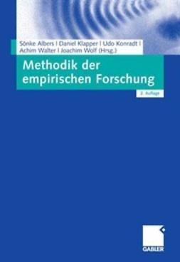 Albers, Sönke - Methodik der empirischen Forschung, ebook