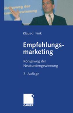 Fink, Klaus-J. - Empfehlungsmarketing, ebook