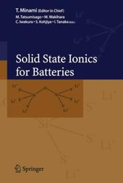 Iwakura, Chiaki - Solid State Ionics for Batteries, ebook