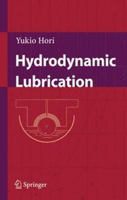 Hori, Yukio - Hydrodynamic Lubrication, ebook