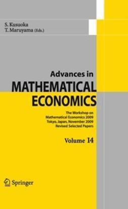 Kusuoka, Shigeo - Advances in Mathematical Economics, ebook