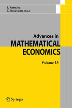 Kusuoka, Shigeo - Advances in Mathematical Economics, e-kirja