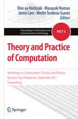 Nishizaki, Shin-ya - Theory and Practice of Computation, e-kirja