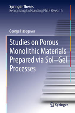 Hasegawa, George - Studies on Porous Monolithic Materials Prepared via Sol–Gel Processes, ebook