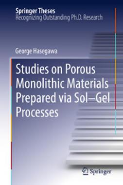 Hasegawa, George - Studies on Porous Monolithic Materials Prepared via Sol–Gel Processes, e-kirja