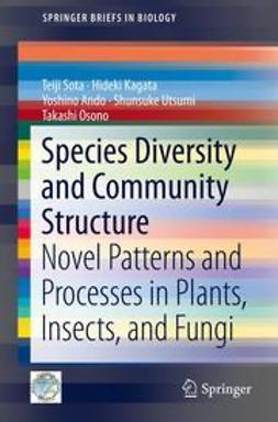 Sota, Teiji - Species Diversity and Community Structure, ebook