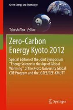 Yao, Takeshi - Zero-Carbon Energy Kyoto 2012, ebook