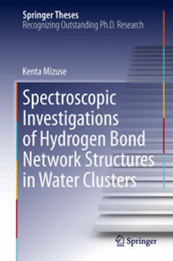 Mizuse, Kenta - Spectroscopic Investigations of Hydrogen Bond Network Structures in Water Clusters, ebook