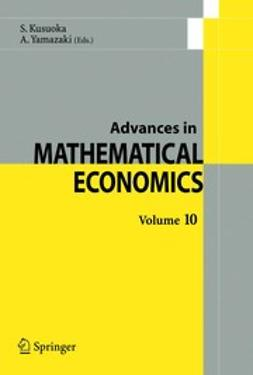 Kusuoka, Shigeo - Advances in Mathematical Economics, e-bok