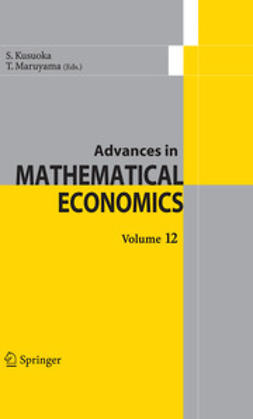 Kusuoka, S. - Advances in Mathematical Economics, ebook