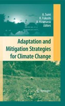 Sumi, Akimasa - Adaptation and Mitigation Strategies for Climate Change, ebook