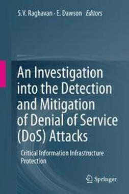 Raghavan, S.V. - An Investigation into the Detection and Mitigation of Denial of Service (DoS) Attacks, ebook