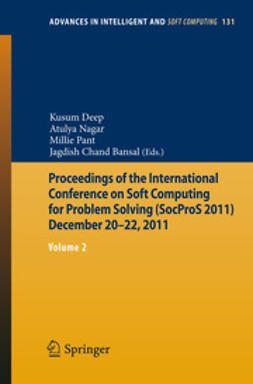 Deep, Kusum - Proceedings of the International Conference on Soft Computing for Problem Solving (SocProS 2011) December 20-22, 2011, ebook