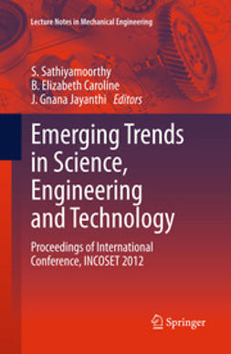 Sathiyamoorthy, S - Emerging Trends in Science, Engineering and Technology, ebook