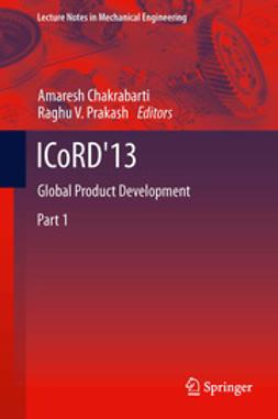 Chakrabarti, Amaresh - ICoRD'13, ebook