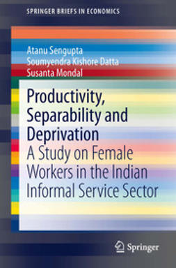 Sengupta, Atanu - Productivity, Separability and Deprivation, ebook