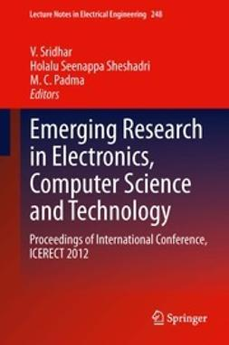 Sridhar, V - Emerging Research in Electronics, Computer Science and Technology, ebook