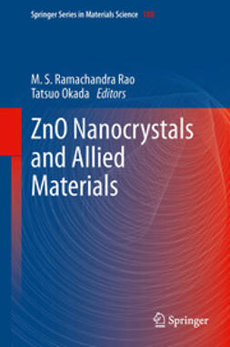Rao, M S Ramachandra - ZnO Nanocrystals and Allied Materials, e-bok