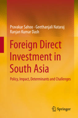 Sahoo, Pravakar - Foreign Direct Investment in South Asia, ebook