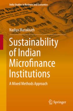 Marakkath, Nadiya - Sustainability of Indian Microfinance Institutions, e-bok
