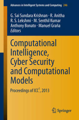 Krishnan, G. Sai Sundara - Computational Intelligence, Cyber Security and Computational Models, e-kirja