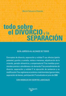 Petanàs, Mercè Tabuenca - Todo sobre el divorcio y la separación, ebook