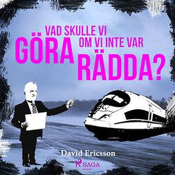 Ericsson, David - Vad skulle vi göra om vi inte var rädda?, audiobook