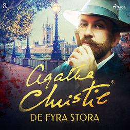 Christie, Agatha - De fyra stora, äänikirja