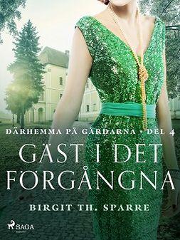 Sparre, Birgit Th. - Gäst i det förgångna, e-kirja