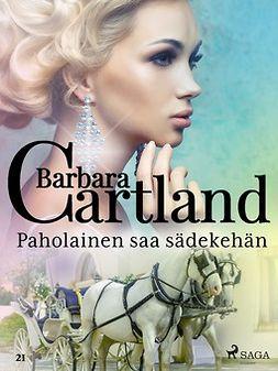 Cartland, Barbara - Paholainen saa sädekehän, e-kirja