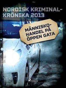 - Människohandel på öppen gata, ebook