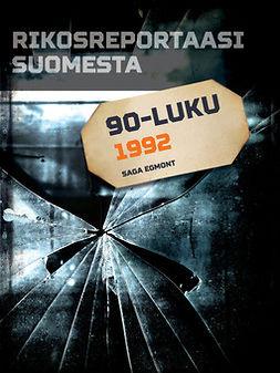 - Rikosreportaasi Suomesta 1992, e-kirja
