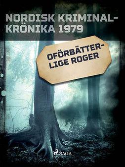 - Oförbätterlige Roger, ebook
