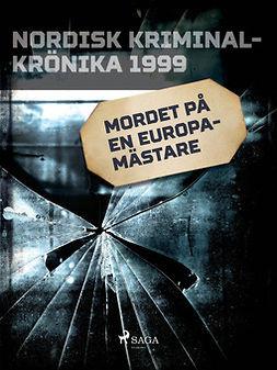 - Mordet på en europamästare, ebook