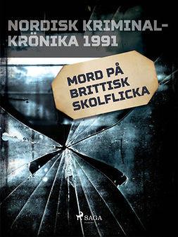 - Mord på brittisk skolflicka, ebook
