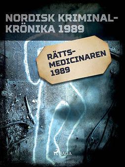Diverse - Rättsmedicinaren 1989, ebook