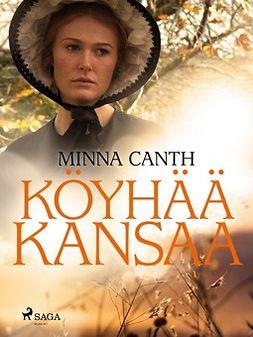 Canth, Minna - Köyhää kansaa, e-kirja