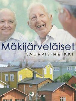Kauppinen, Heikki - Mäkijärveläiset, e-kirja