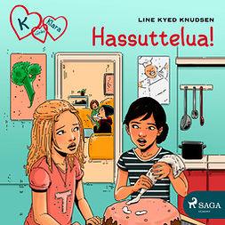 Knudsen, Line Kyed - K niinku Klara 17 - Hassuttelua!, äänikirja