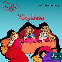 Knudsen, Line Kyed - K niinku Klara 4 - Yökylässä, äänikirja