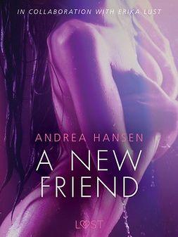 Hansen, Andrea - A New Friend - Sexy erotica, e-bok