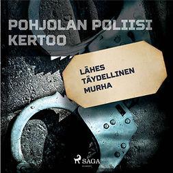 Mäkinen, Teemu - Lähes täydellinen murha, audiobook