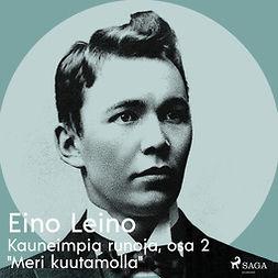 """Leino, Eino - Kauneimpia runoja, osa 2 """"Meri kuutamolla"""", äänikirja"""