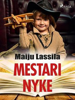 Lassila, Maiju - Mestari Nyke, e-kirja